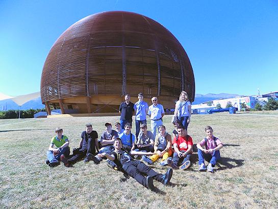 Школа по физике высоких энергий для старшеклассников прошла в CERN